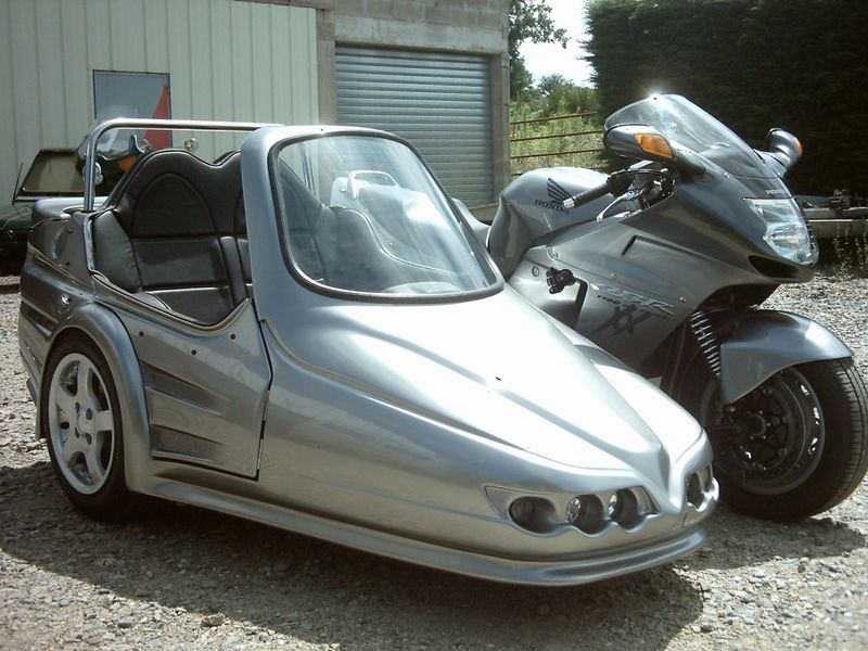 sidecar occasion - 1100 xx Serval S