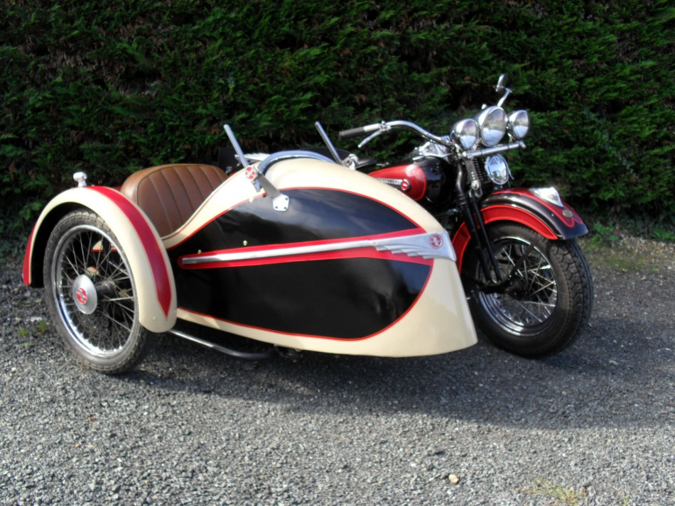 sidecar occasion - harley imperial